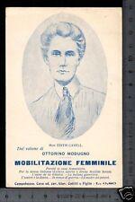 [11285] CAMPOBASSO - MOBILITAZIONE FEMMINILE _ 1916