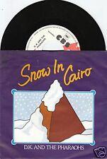 D.K. & THE PHARAOHS Snow In Cairo 45/GER/PIC/PROMO
