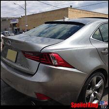 Rear Roof Spoiler Window Wing (Fits: Lexus IS250 IS350 2014-on XE30) SpoilerKing