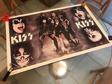 Vintage 1977 Kiss/Aucoin 21X32 Poster!