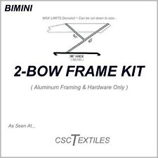 "2-BOW BOAT FRAME KIT w/Hardware for BIMINI: 7/8""OD ~ USA-or-Canada"