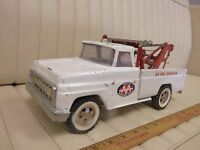 1965-66 TONKA - AA - Auto Wrecker Tow Truck Pressed Steel Toy ORIGINAL
