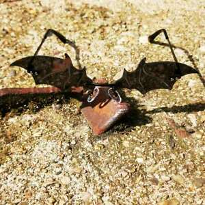 Bat Wings - Gothic Sonnenbrille im Fledermaus Style, Punk, Vampir, Dark Style