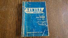 Yamaha XS650 ´75 ´76 447 Teileliste Parts list 5J3-28198-E5