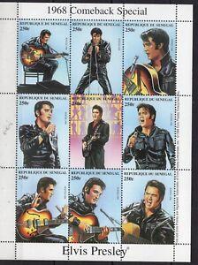 Senegal - Elvis Presley - Briefmarken - timbres - perf.  MNH** Del.5