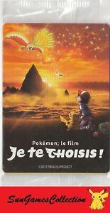 🌹 Booster Pokemon Pikachu Sacha FILM - JE TE CHOISIS ! Contient 3 Cartes 🌹