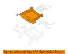 FORD OEM Front Seat-Cushion Frame Right 8G1Z5463100A