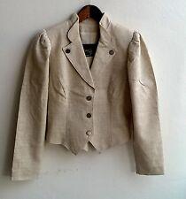 Damen Trachten Janker Jacke grau Gr. 36 v. Original Alpen Trachten