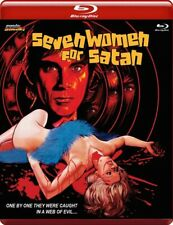10 Mondo Macabro RED CASE Blu-Ray SEVEN WOMEN FOR SATAN Giallo SINS OF THE FLESH