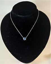 Guess Damen-Halskette Edelstahl mit Anhänger Pavé-Kristallen 42 cm UBN81312