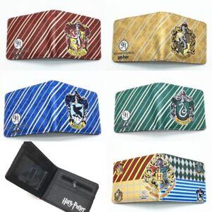 Harry potter Hogwarts Hufflepuff Ravenclaw Slytherin Gryffindor Short wallet