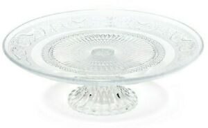 11 inch Glass Footed Cake Plate / Pastry Server Stand