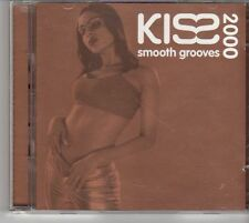 (EV430) Kiss Smooth Grooves 2000, 39 tracks various artists - 2000 double CD