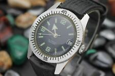 Vintage WAKMANN Automatic 25 Jewel Stainless Steel Skin Diver Men's Sport Watch