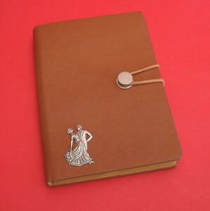 Ballroom Dancers Pewter Motif A6 Note Book Journal Strictly for Dancing Stars