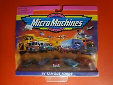MICRO MACHINES FAMOUS FORDS SET #1 - 75030