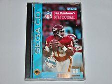 Joe Montana's NFL Football for Sega CD System **BRAND NEW** **FACTORY SEALED**