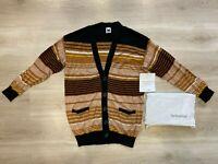 MISSONI  Striped Long Sleeve Button Cardigan Jumper Womens Size - Small (S) BNWT