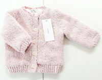 Strick Jacke Gr.56 Noppies NEU hell rosa gefüttert warm baby