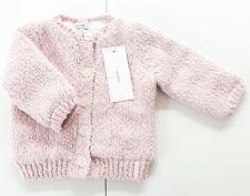 Strick Jacke Gr.56 Noppies NEU hell rosa gefüttert baby