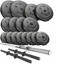 Weight set 40 kg adjustable Barbell Dumbbels Set Weight lifting training Home