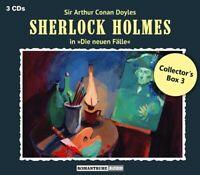 SHERLOCK HOLMES - DIE NEUEN FÄLLE: COLLECTOR'S BOX 3  3 CD NEU