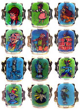 1960's Vari Vue Wizard Of Oz Flicker Ring Set Of (12)