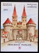 Sello FRANCIA / FRENCH stamp - Yvert Tellier Carnet Cruz Rojo nº2020 (Cyn25) G