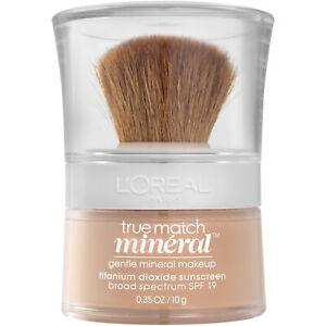 LOreal Paris True Match Loose Powder Mineral Foundation Makeup,  0.35 oz.