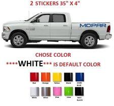 2 Dodge RAM Mopar Truck Bed Stickers Decal HEMI (#721)