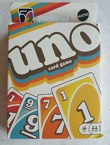 Jeu de cartes neuf UNO Iconic 1970S