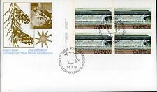 Canada FDC#726 -PLATE BLOCK- Fundy National Park (1979) $1