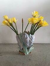 McCoy Purple Hyacinth Vase 1940's