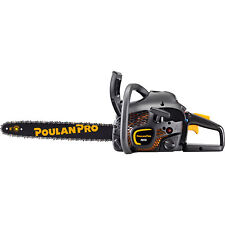 """Poulan Pro 18"""" Bar 42CC 2 Cycle Gas Powered Chainsaw (Certified Refurbished)"""