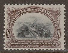 Scott #298 Mint Single, 1901 Pan American, Canal at Sault Ste. Marie
