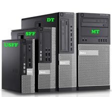 USED Dell OptiPlex 7010 SFF/DT/MT Core i3/i5/i7 3RD GEN CPU 4GB RAM NO HDD NO OS