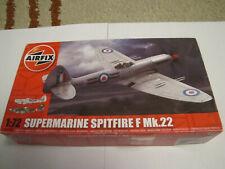 Vintage Supermarine Spitfire Mkla 1:72 Escala