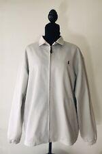 RALPH LAUREN Polo Pale Smoke Colour Plaid Lining Jacket Size XL