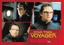 Star Trek Voyager Heroes & Villains GOLD PARALLEL Base Card #85 - 087/100