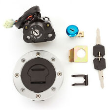 Steering Ignition Switch Fuel Gas Cap Cover Lock With Keys Fits Suzuki GSXR1300