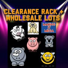 Clearance Rack & Wholesale Lots Adopt one, message Me with Questions