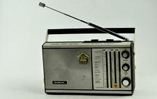 Siebziger Jahren VTG Sokol 308 Transistor Radio FM/AM UdSSR Sowjetische funktioniert