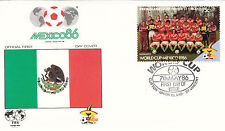 (33080) Union Island FDC - Football World Cup 1986 - Hungary