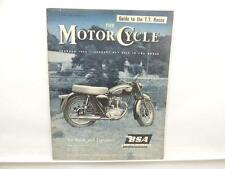 June 1960 THE MOTORCYCLE Magazine BSA 250 Star Francis-Barnett Falcon 87 L8111