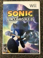Sonic Unleashed - Nintendo Wii Game - Complete & Tested Working - Free Ship