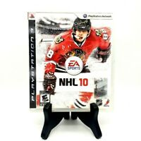 EA Sports NHL 10 Sony PS3 PlayStation 3 Game And Case Good Condition No Manual