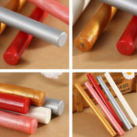 Lot Retro Round Sealing Wax Stick Seal Stamp Glue For Wedding Party Tools NEW