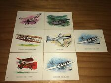 "Vintage Vita-Brits Cards ""Conquest Of The Air"" 7 Cards"