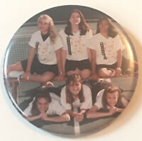 "1990's Whitehall High School Girls Tennis Team 3"" Pinback Button"