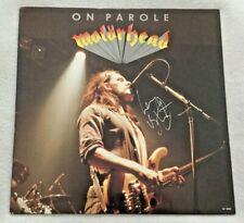 "Autographed/Signed Motörhead ""On Parole"" Vinyl Lemmy Kilmister"